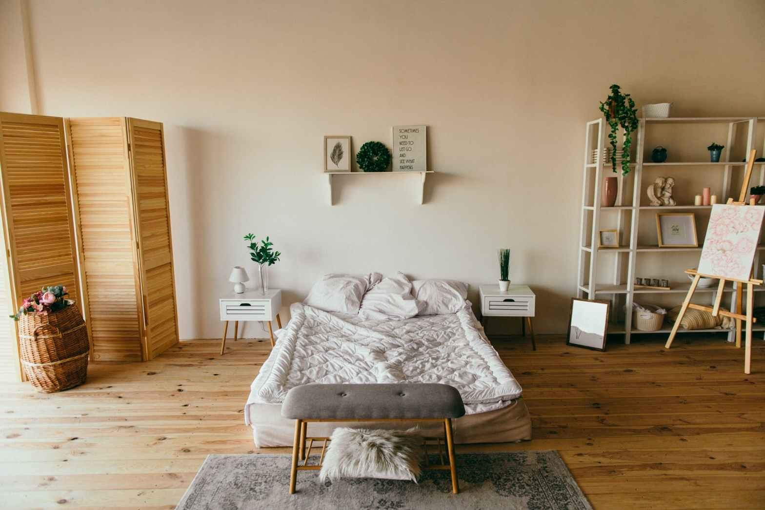 Eco friendly bedroom. – Road to sustainability